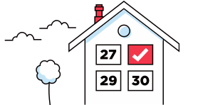 Housesimple letting process: Book a house valuation