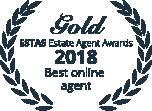 Gold Estate Agent Award 2018: Best online agent